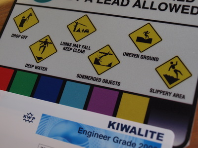 kiwalite digital print reflective engineer grade