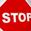 Kiwalite Overlay Stop Sign